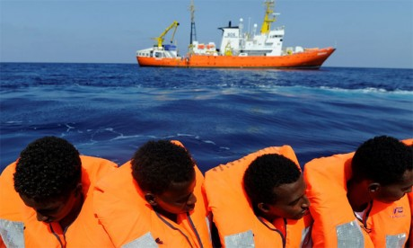 2.262 morts dans des traversées  de la Méditerranée en 2018, selon le HCR