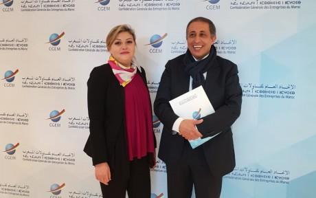 Outaghani et Ben Elafdil à la tête de la Fédération du Commerce et Services
