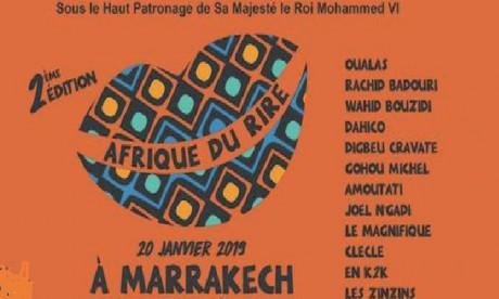La deuxième édition du Festival Afrique du rire du 18 au 31 janvier