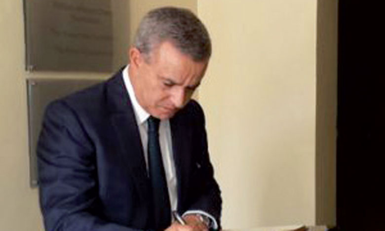 Mohamed Aujjar rend hommage aux victimes du génocide de 1994