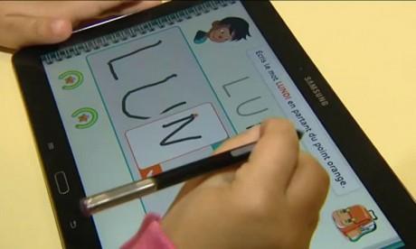 Session de formation à Rabat sur l'usage pédagogique des tablettes tactiles en classe