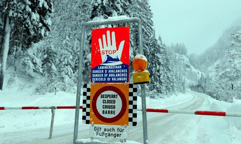 Le risque d'avalanche était de 3 sur 5 dans cette zone alpine alors qu'il est de 4 voire de 5 dans d'autres massifs autrichiens depuis plusieurs jours. Ph :  AFP