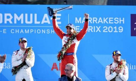 Le pilote belge Jérôme d'Ambrosio arrache  la victoire à Marrakech