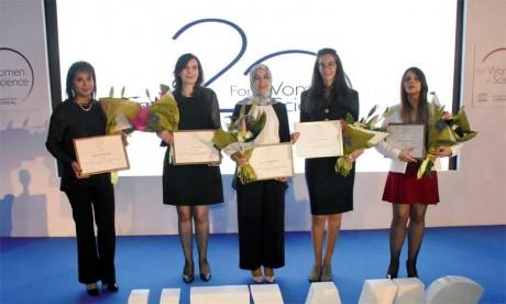 Cinq chercheuses maghrébines primées à Rabat