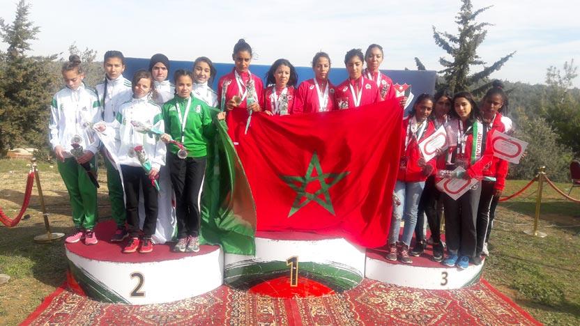 Championnats arabes de Cross country  : Le Maroc en tête de classement