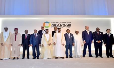 Son Altesse Royale le Prince  Moulay Rachid représente S.M. le Roi  à la cérémonie d'ouverture de la Semaine  de la durabilité d'Abu Dhabi