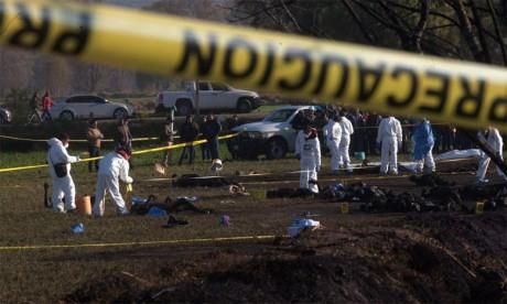 Plus 73 morts et 74 blessés dans l'explosion  d'un oléoduc