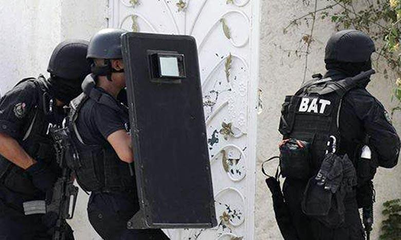 Deux terroristes se sont fait explosés, dans la ville tunisienne de Jelma, à Sidi Bouzid. Ph : DR