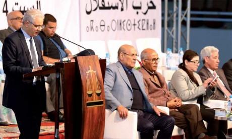 Le Parti de l'Istiqlal propose «six ruptures» pour un nouveau modèle de développement