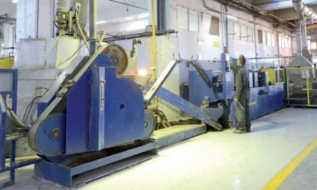 Almabat rode sa nouvelle ligne de  production avant de monter en cadence