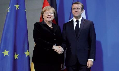 La France et l'Allemagne veulent parvenir  «à une armée européenne»