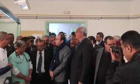 Inauguration du Complexe chirurgical relevant du Centre hospitalier de la préfecture d'Inezgane-Aït Melloul