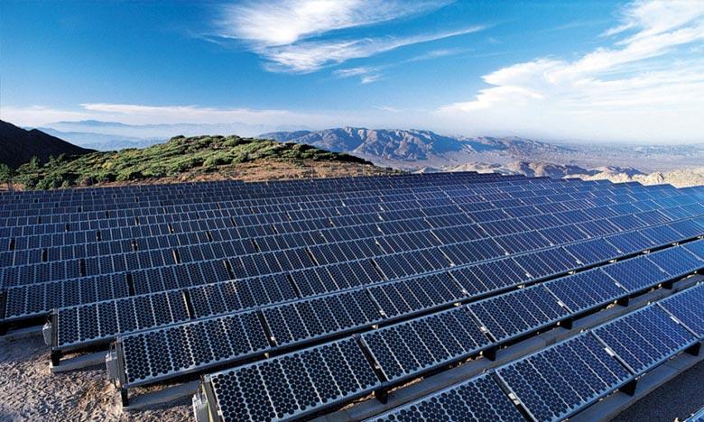 Le projet solaire «Noor Atlas Tan-Tan» sera réalisé sur une superficie d'environ 200 ha avec un coût global de l'ordre de 528 MDH et prévoit la création de plus de 200 postes d'emploi. Ph : DR