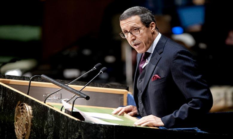 Omar Hilale a averti le SG et le CS que le Maroc ne saurait tolérer la récurrence de ces provocations qui menacent sérieusement la paix et la sécurité régionales et compromettent les efforts du Secrétaire général de l'Onu et de son envoyé personnel. Ph : DR