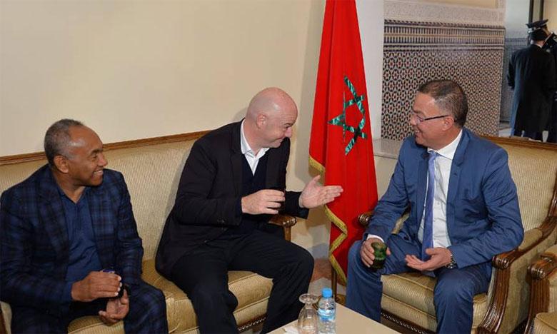 Gianni Infantino fait le forcing à Marrakech pour un Mondial à 48