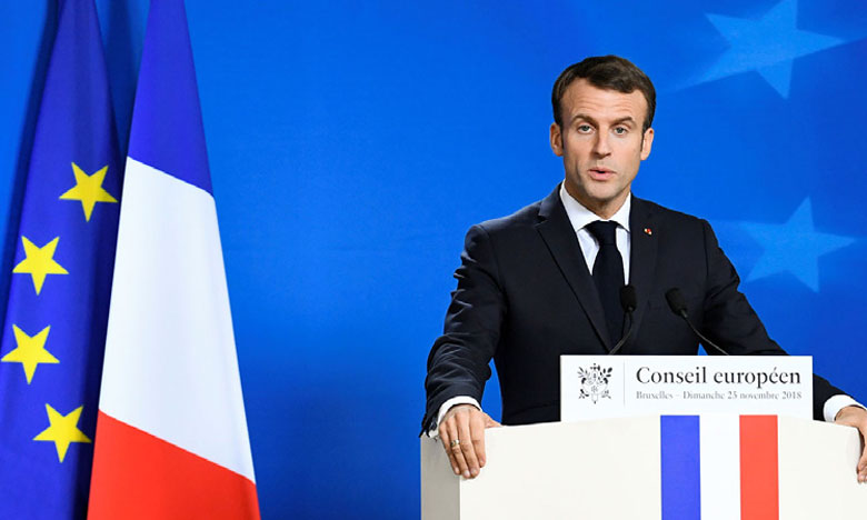 «Ce n'est ni une élection, ni un référendum», a averti le Président français, Emmanuel Macron, dans sa lettre.                                                                                                                     Ph. Reuters