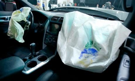 Le système de gonfleurs de Ford, produit par Takata, présente un risque de déploiement anormal en cas d'accident voire d'explosion. Ph : DR