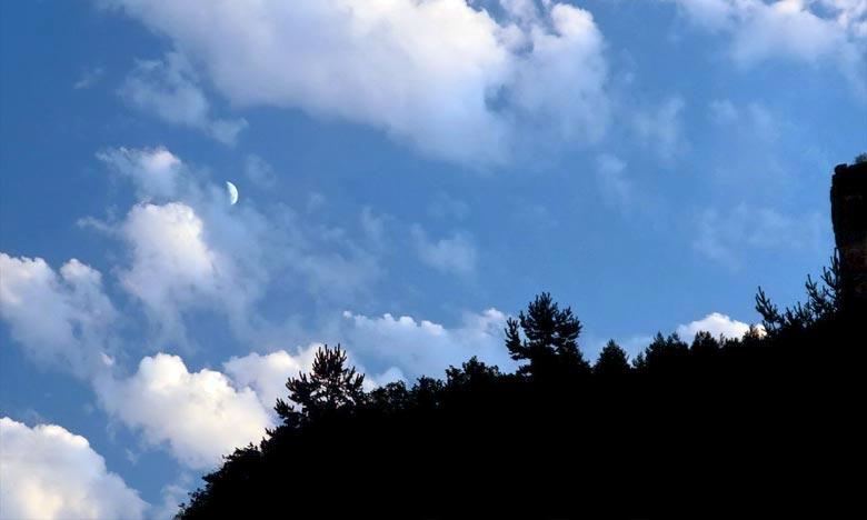 Le début du mois de Joumada I après le coucher du soleil du dimanche 29 Rabia II 1440 de l'Hégire, correspondant au 06 janvier 2019, faisant savoir que l'apparition du croissant lunaire n'a pas été confirmée et que de ce fait, le 1er Joumada I correspond au mardi. Ph : DR