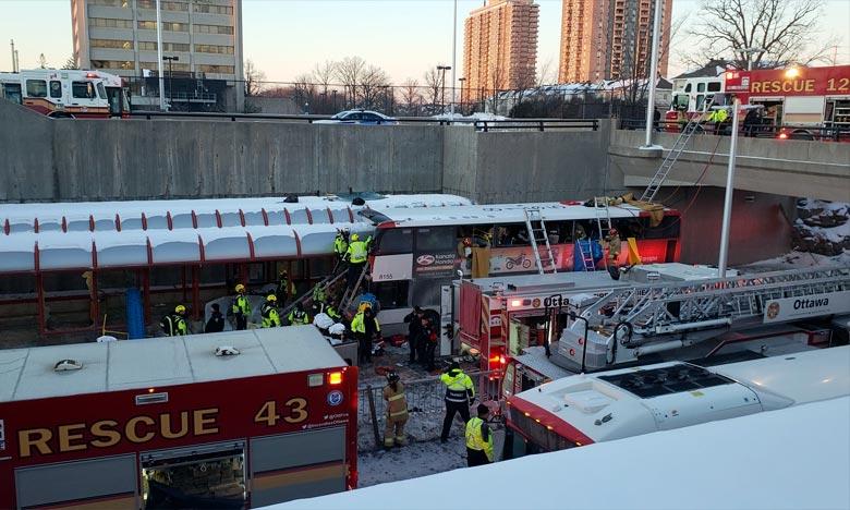 Trois morts et plusieurs blessés à Ottawa