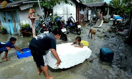 Sept provinces frappées en Thaïlande