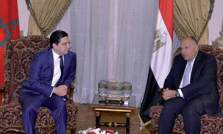 Rabat et Le Caire affichent leur volonté de renforcer les relations bilatérales