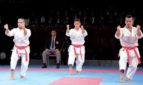 Open Paris Karaté :  Deux médailles de bronze pour le Maroc