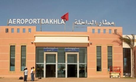 Le trafic aérien à l'aéroport de Dakhla progresse de près de 40% en novembre dernier
