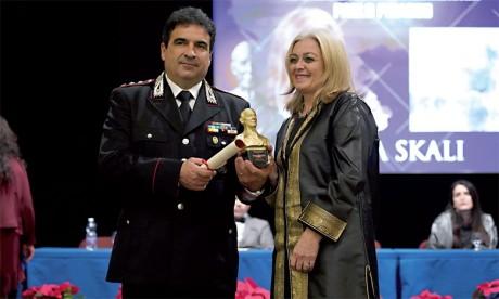 Nadia Skali doublement décorée en 2018  par le César et le Prix Pablo Picasso