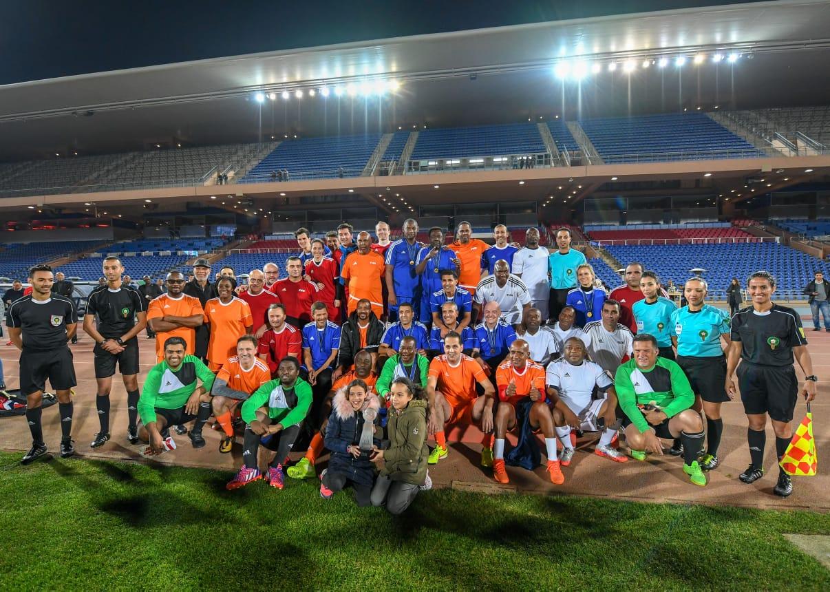 Les stars de la FIFA en match de gala à Marrakech
