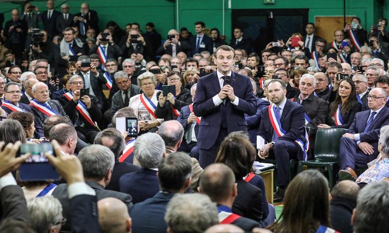 Emmanuel Macron en Normandie pour lancer le grand débat national