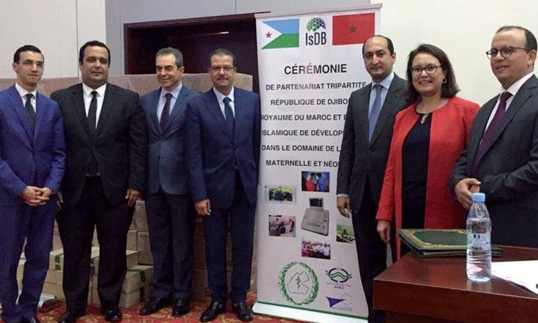 Le Maroc et la Banque islamique  de développement viennent en aide au secteur de la santé maternelle et néonatale à Djibouti