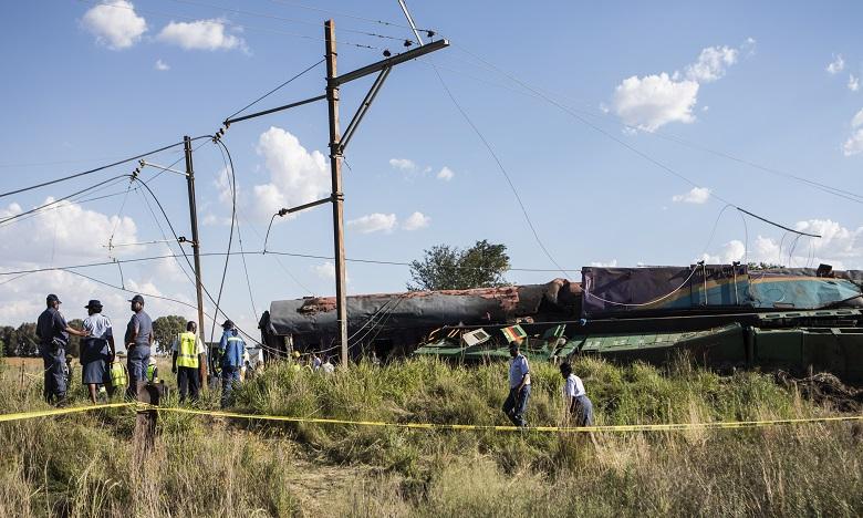 Collision entre deux trains en Afrique du Sud