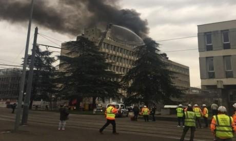 Incendie sur un campus universitaire à Lyon, des blessés légers