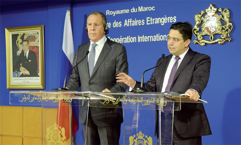 Serguei Lavrov: La question du Sahara appelle une «solution consensuelle» conformément aux résolutions du Conseil de sécurité