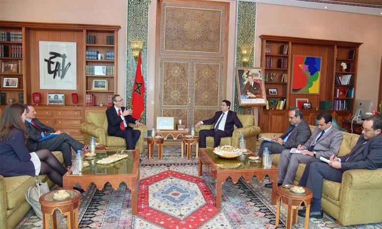 La Grande-Bretagne explore de nouvelles opportunités  de coopération avec le Maroc