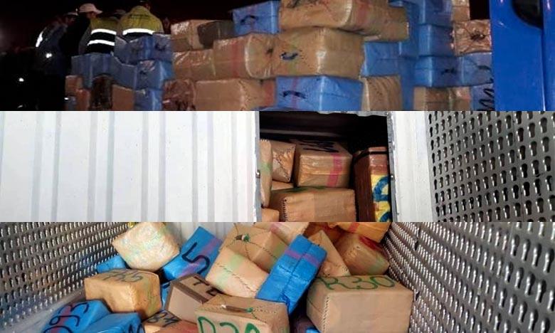 Trafic de drogues  :  Mise en échec d'une tentative à Tanger Med