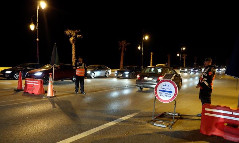 Les deux mineures âgées de 15 ans portées disparues dans des circonstances douteuses selon la police, ont été localisées à Marrakech. Ph : MAP