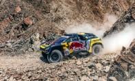 Le Français Sebastien Loeb, au volant d'une Peugeot, remporte la 2e étape du rally Dakar-2019, entre Pisco et San Juan de Marcona, au Pérou . Ph : AFP