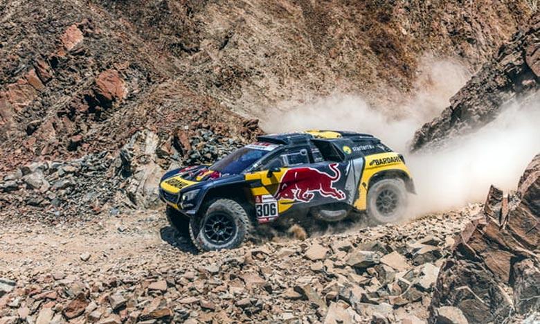 Rallye Dakar: Sébastien Loeb s'adjuge la 8e étape
