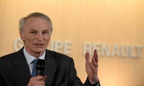 """Le nouveau président de Renault : """"Je mesure l'importance de la tâche"""""""