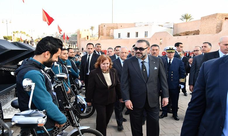 Forte impulsion Royale au programme de réhabilitation  et de mise en valeur de l'ancienne médina de Rabat