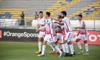 Entre-temps, le diable rouge Mohamed Nahiri (35e) a réduit le score pour le Wydad Athletic Club «WAC». Ph :Seddik