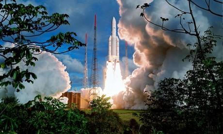 L'Inde met en orbite «Microsat R»