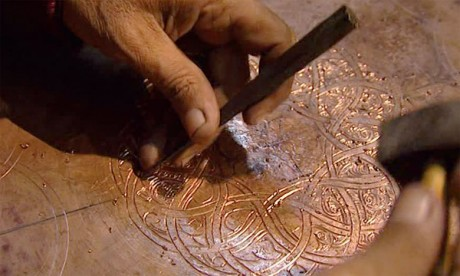 L'artisanat du métal à l'honneur dans  la cité idrisside