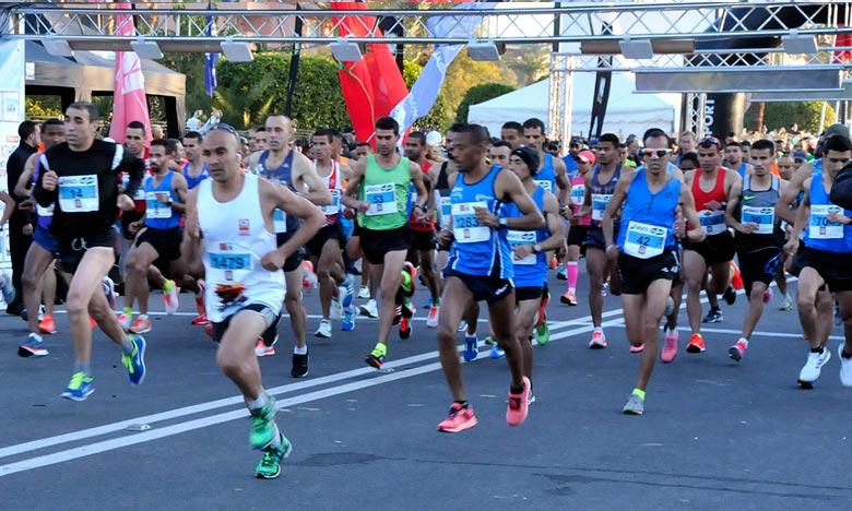 Le marathon international de Marrakech a acquis une renommée internationale et jouit de la confiance et de la crédibilité des sponsors, qui garantissent la pérennité de cet événement. Ph : DR