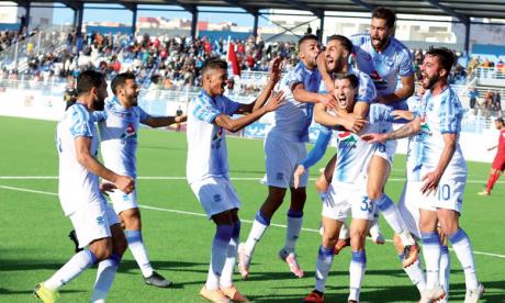 Chabab Rif Al Hoceïma termine la phase aller par une victoire sur le Hassania d'Agadir