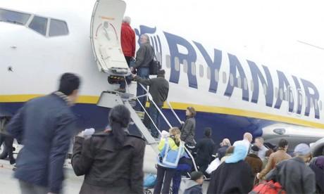Le trafic de Ryanair s'envole de 8% en 2018