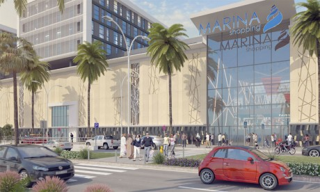 Le nouvel espace du shopping abrite plus de 140 enseignes.