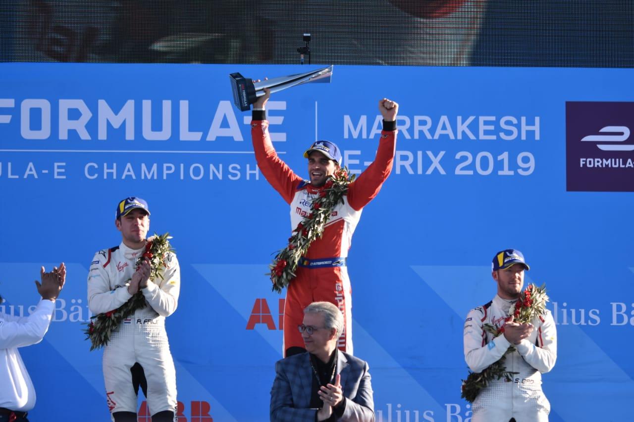 Le pilote belge Jérôme D'Ambrosio arrache la victoire à la team BMW