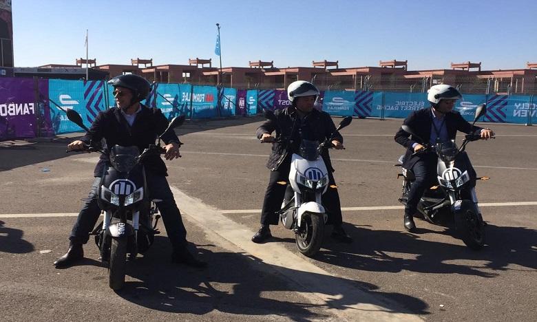 Bientôt des motos «vertes» dans la ville ocre